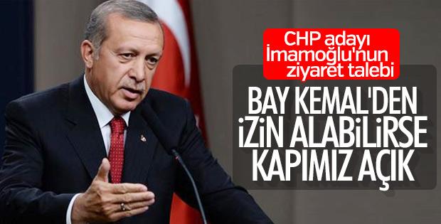 Cumhurbaşkanı Erdoğan'dan İmamoğlu açıklaması