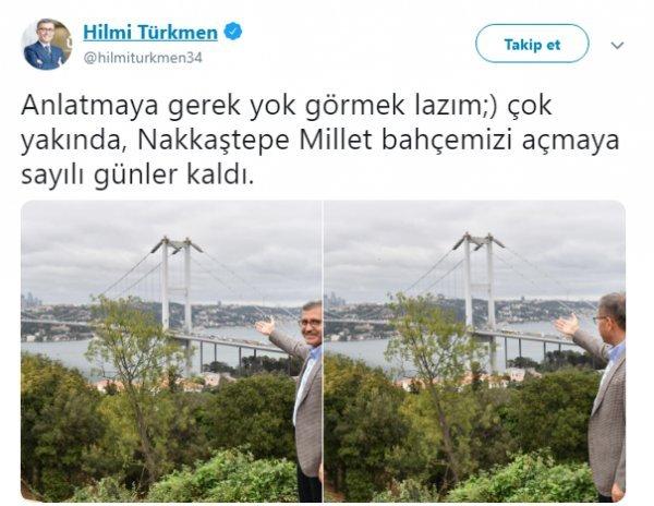 AK Parti'nin Üsküdar adayı: Hilmi Türkmen