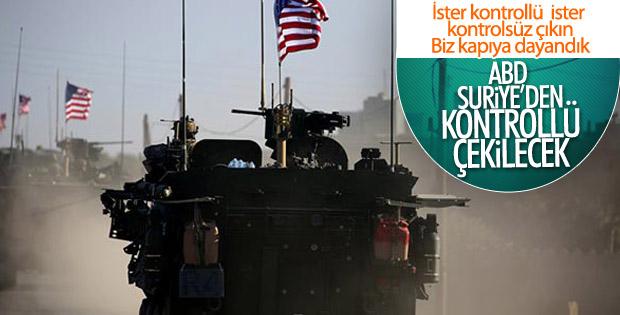 Pentagon'un Suriye'den kontrollü çekilme açıklaması