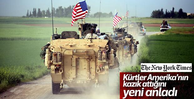 Suriyeli Kürtler: ABD bize kazık attı