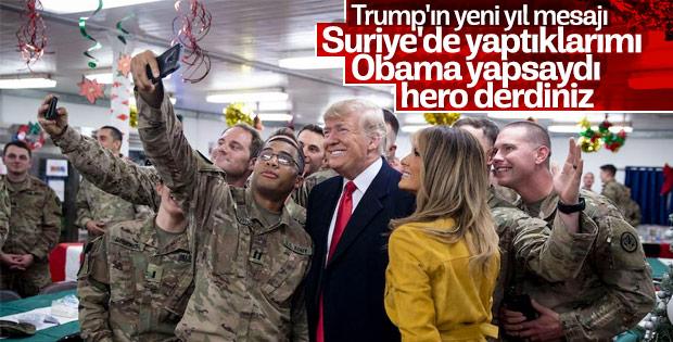 Trump: Askerlerimizi yavaş yavaş Suriye'den çekiyoruz