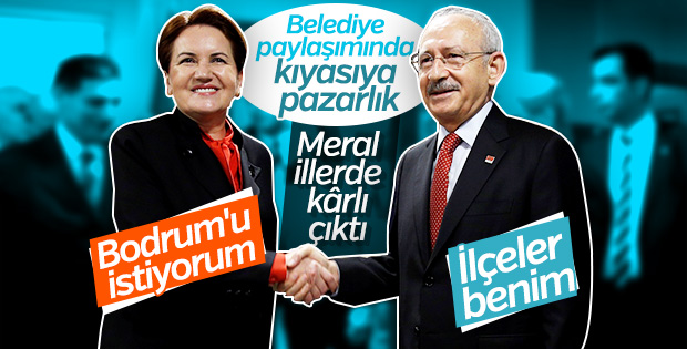 CHP ile İyi Parti'nin belediye paylaşımı sürüyor