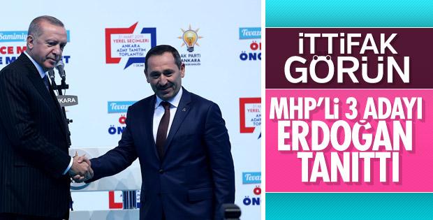 Erdoğan, Ankara'da da MHP adaylarını tanıttı