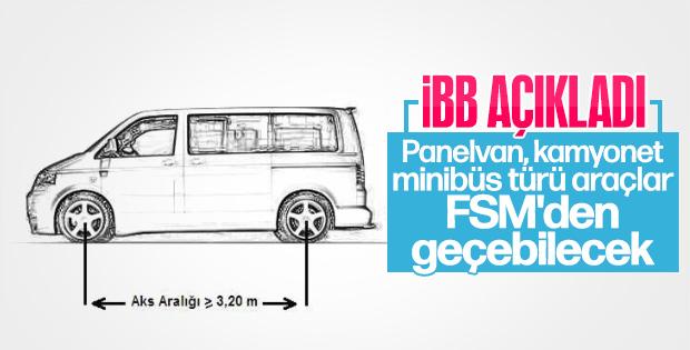 İBB açıkladı 2. sınıf araçlar artık FSM'yi kullanabilecek.. (02 Ocak 2019 çrş)