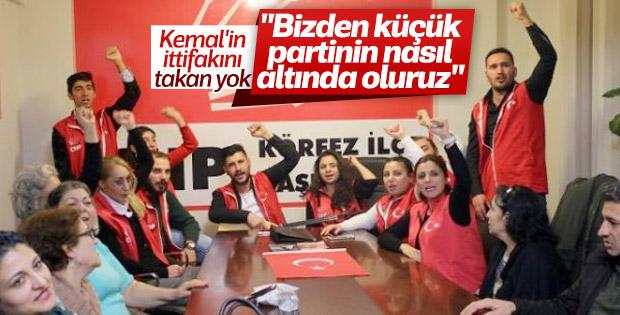 CHP'lilerin Kocaeli'de İyi Parti eylemi