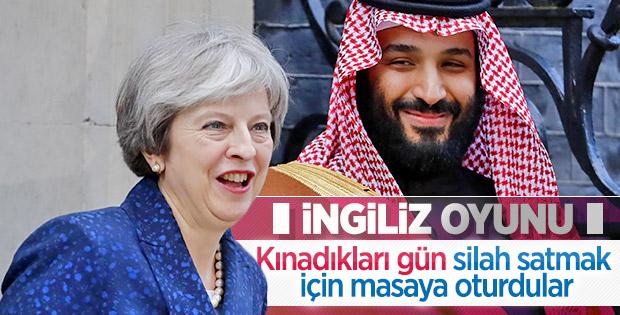 İngilizlerin Suudi Arabistan ikiyüzlülüğü