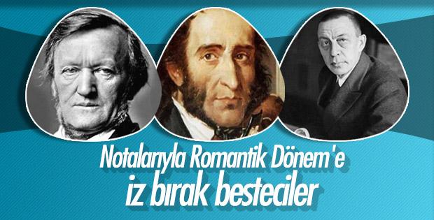 Romantik Dönem'e damgasını vuran 73 duayen besteci