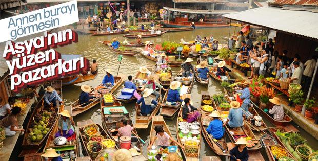 Güneydoğu Asya'nın yüzen pazarları: Floating markets
