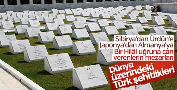 Vakanüvis Türk şehitliklerini yazdı