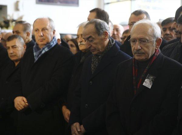 Kılıçdaroğlu, Gürsel Erol'un annesinin cenazesine katıldı