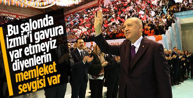 Cumhurbaşkanı Erdoğan: İzmir 81 milyonun şehri
