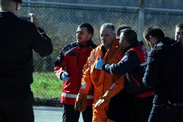 Samsun'da gemi battı: Mürettebat kurtarıldı