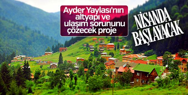 Ayder'de yayla kentsel dönüşümü uygulanacak