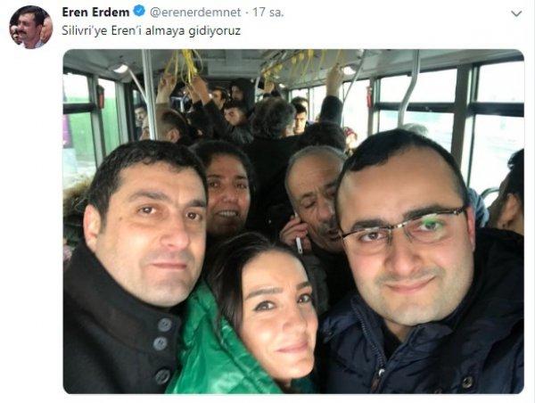 Eren Erdem'in tahliye kararı bozuldu