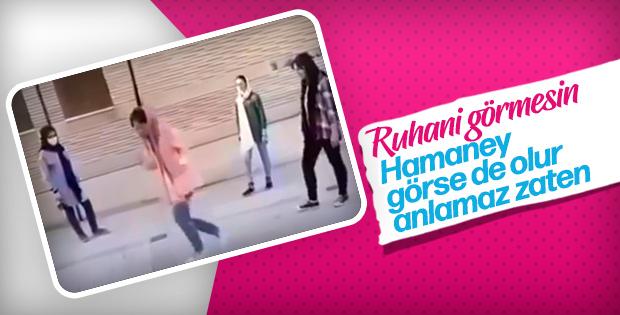 İranlı kadınların baskılara tepkisi: Sokakta dans