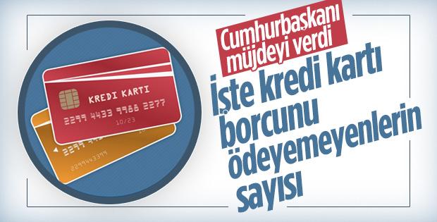 Türkiye'de kredi kartı borcunu ödeyemeyen kişi sayısı