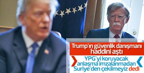 Erdoğan Bolton ile görüşmeyi kabul etmedi