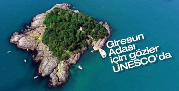Giresun Adası için Dünya Mirası Geçici Listesi'ne başvuru
