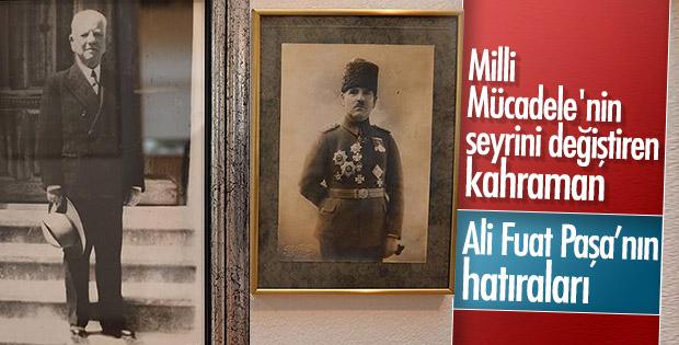 Ali Fuat Cebesoy'un hatıraları müzede sergileniyor