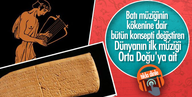 3 bin 400 yıllık dünyanın en eski şarkısı