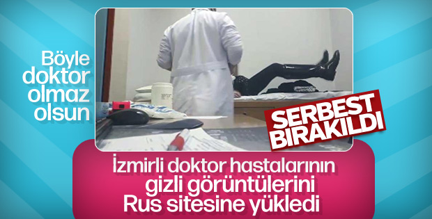 Hastalarının çıplak görüntülerini paylaşan doktor