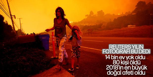 2018'in en maliyetli doğal afeti: Kaliforniya yangını