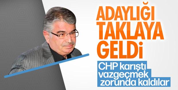 CHP İdris Naim Şahin'den vazgeçti