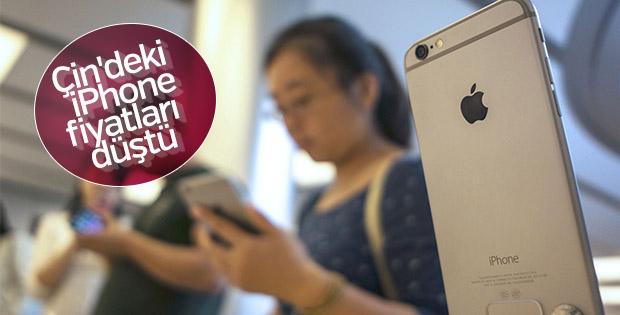 Apple, Çin'deki iPhone fiyatlarını düşürdü