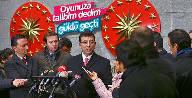 İmamoğlu Cumhurbaşkanı Erdoğan'dan oy istediğini anlattı