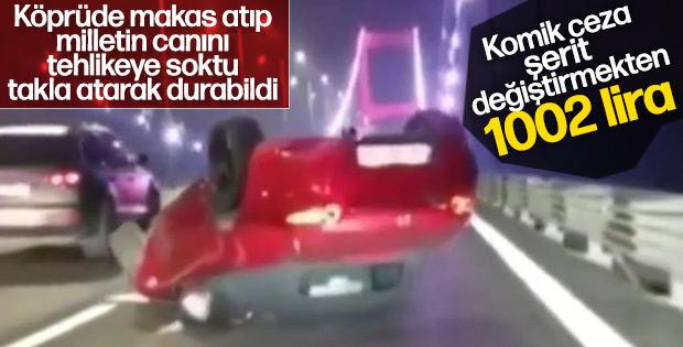 FSM köprüsünde makas kazasına şaşırtan ceza