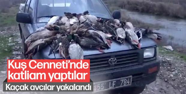 37 yaban ördeğini öldüren avcılara 22 bin 595 lira ceza