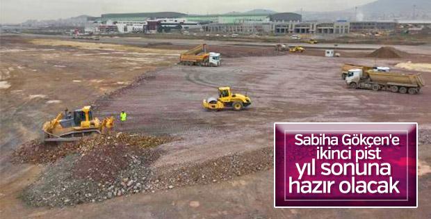 Sabiha Gökçen Havalimanı'na ikinci pist çalışmaları