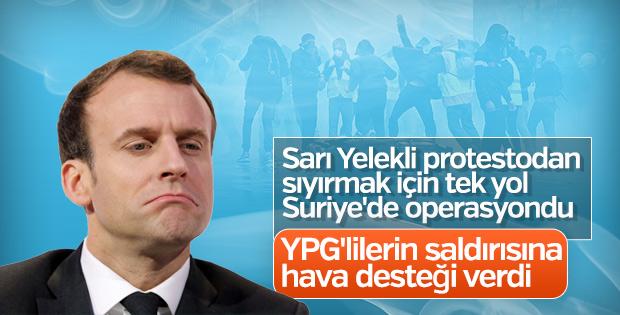 Fransa terör örgütü YPG ile ortak operasyon yaptı