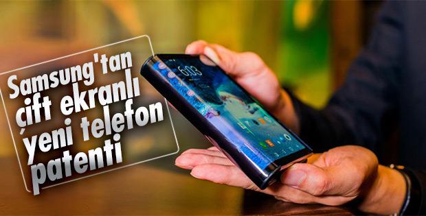 Samsung'un iki ekranlı telefon patenti ortaya çıktı