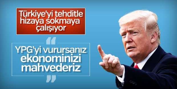Trump'tan Türkiye'ye Suriye tehdidi