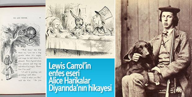 Lewis Carrol'in başyapıtı Alice Harikalar Diyarında'nın hikayesi