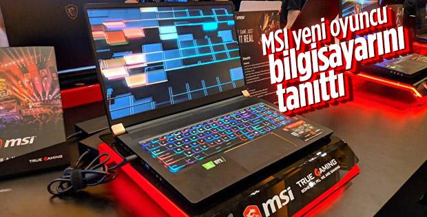 MSI, yeni oyun dizüstü bilgisayarını tanıttı