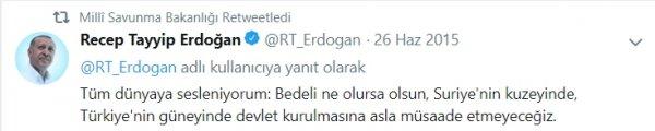 Milli Savunma Bakanlığı'ndan Trump'a Erdoğanlı cevap