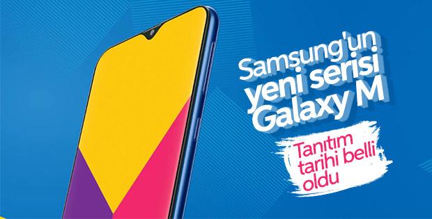 Samsung'un ilk çentikli telefonu: Galaxy M