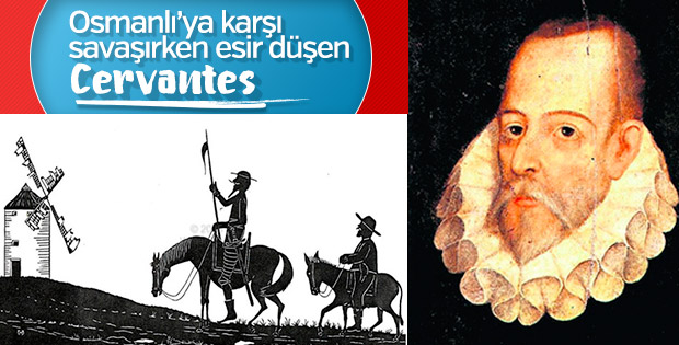 Vakanüvis Cervantes'i yazdı