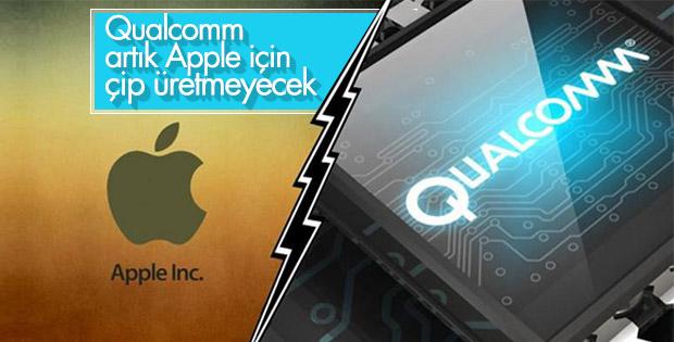 Qualcomm, artık Apple için çip üretmeyeceğini açıkladı
