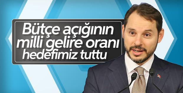 Bakan Albayrak: Bütçe açığı 72.6 milyar lira