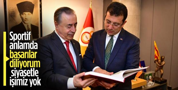 Ekrem İmamoğlu, Galatasaray'ı ziyaret etti