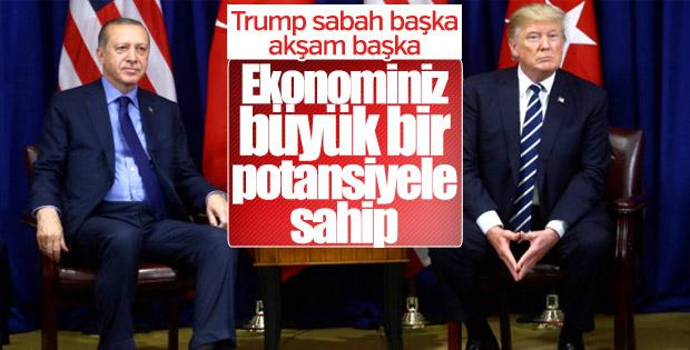 Türkiye'yi ekonomiyle tehdit eden Trump'tan 'U' dönüşü