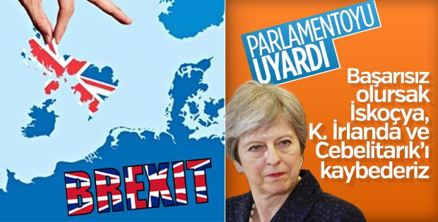 May'dan milletvekillerine: Brexit geçmezse bölünürüz