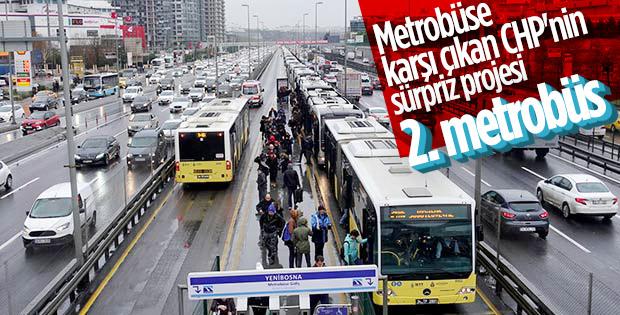 Ekrem İmamoğlu, 2. metrobüs hattı yapacağını açıkladı