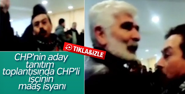 CHP'li işçinin Kılıçdaroğlu'na maaş isyanı