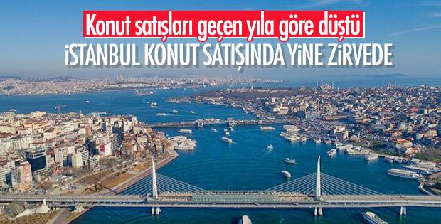 Türkiye genelinde konut satışları azaldı