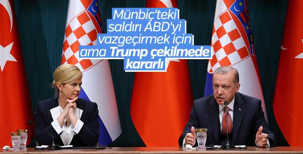 Erdoğan: Suriyeliler teröristlerle iç içe yaşayamaz