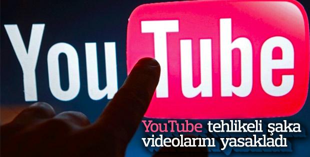 YouTube, tehlikeli meydan okuma videolarını yasakladı